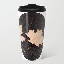 Maple Leaves Photography Print Travel Mug