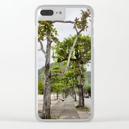 Street of Angra dos Reis (Brazil) Clear iPhone Case