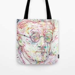 JAMES JOYCE portrait Tote Bag