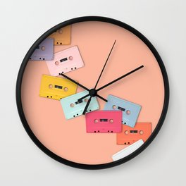 90's Dance Party Wall Clock