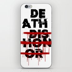 Death Before Dishonor iPhone & iPod Skin
