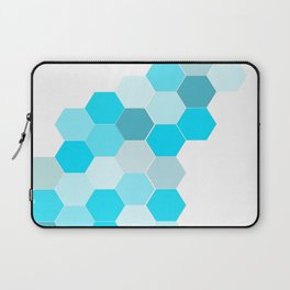 Honeycomb - Turq Laptop Sleeve