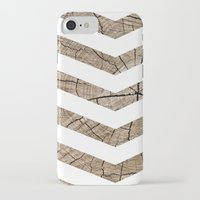 tree rings iPhone & iPod Cases featuring Tree Rings by Ty Foley