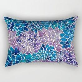 Floral Abstract 34 Rectangular Pillow