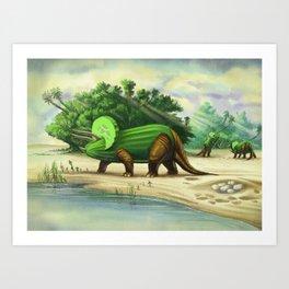 Cucumbertops Art Print