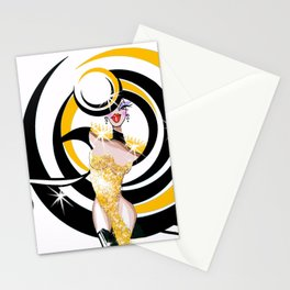 Magique Showgirl Fashion Show 1 Stationery Cards