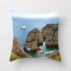 Ponta da Piedade, Algarve Throw Pillow