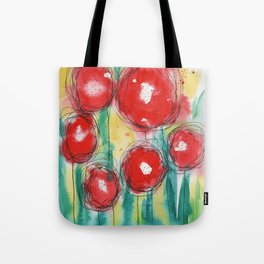 Poppy paradise Tote Bag