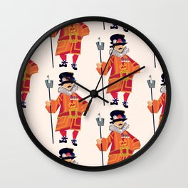 London Beefeaters Wall Clock