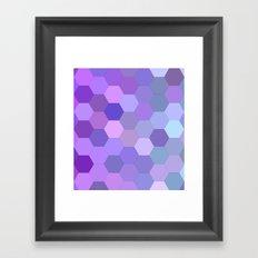 Pretty purpleness Framed Art Print