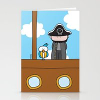 pirates Stationery Cards featuring Pirates by oekie
