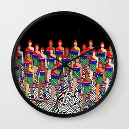 Toy Soldier Dolls Wall Clock