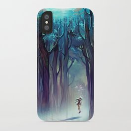 AquaForest iPhone Case