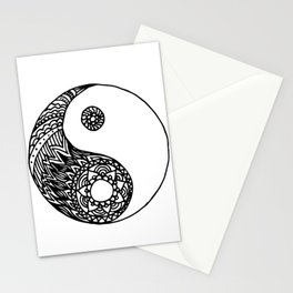 Tangled Yin Yang Stationery Cards