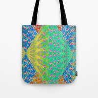 diamonds Tote Bags featuring Diamonds by elikourY