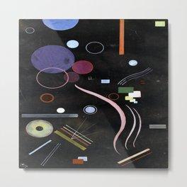 Wassily Kandinsky The Center Metal Print