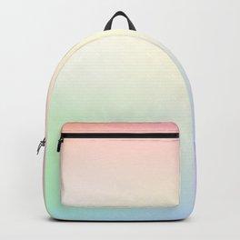 Pastel Rainbow Gradient Backpack