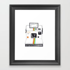 Polaroid Framed Art Print