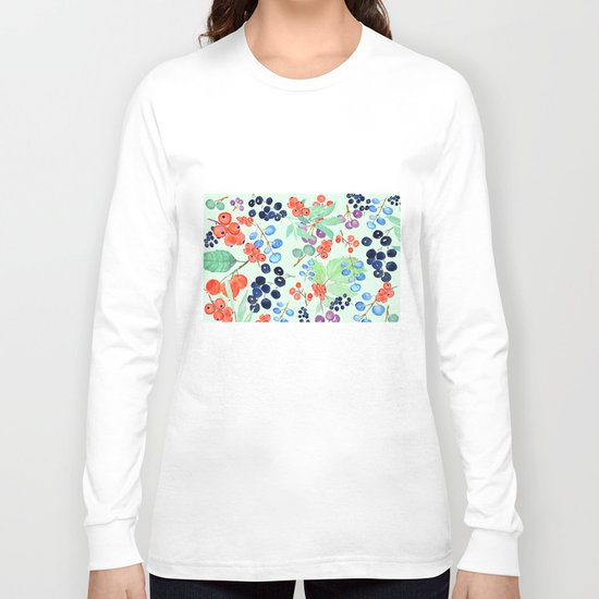 joyful berries Long Sleeve T-shirt