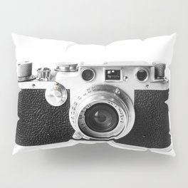 Old Camera Pillow Sham