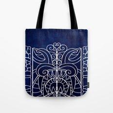 Threshold Guardian (blue) Tote Bag