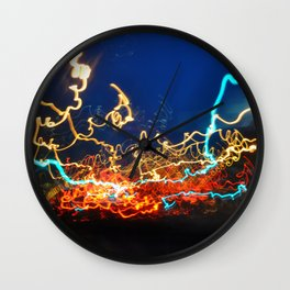 Minneapolis at Lightspeed Wall Clock