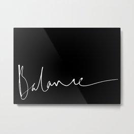 Balance 2 Metal Print