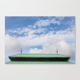 Looking Upward to the Summer Sky Canvas Print