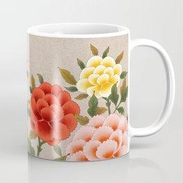 Korea traditional flower art moran Coffee Mug