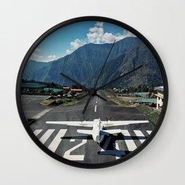 Lukla, Nepal Wall Clock