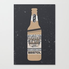 Art For All Brew Bottle Canvas Print