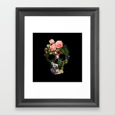 The Skeleton Garden Framed Art Print