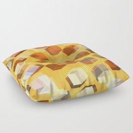 transparent cubes Floor Pillow