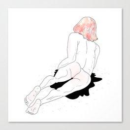 Grl Canvas Print