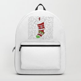 Christmas Day Stocking Backpack