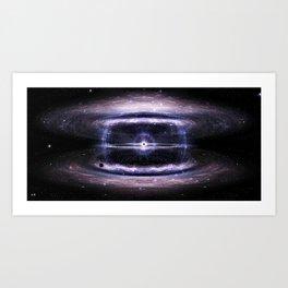 Galactic guts Art Print