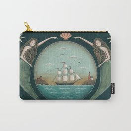 Sirens of the Sea by Donna Atkins Carry-All Pouch