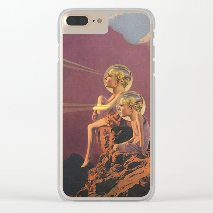 THANK YOU MAXFIELD Clear iPhone Case