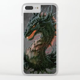 Regal Dragon Clear iPhone Case
