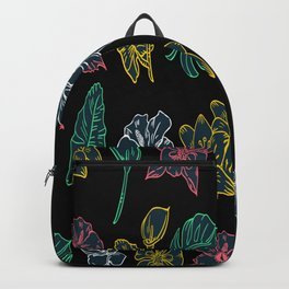 Flowers Pattern Hawaiian Floral Birthday Gift Backpack