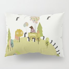 oh my how penguins fly Pillow Sham