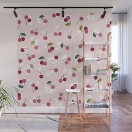 Cherry pie Wall Mural