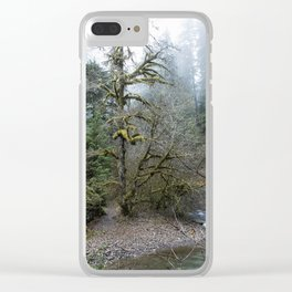 A Creek Runs Through It Clear iPhone Case
