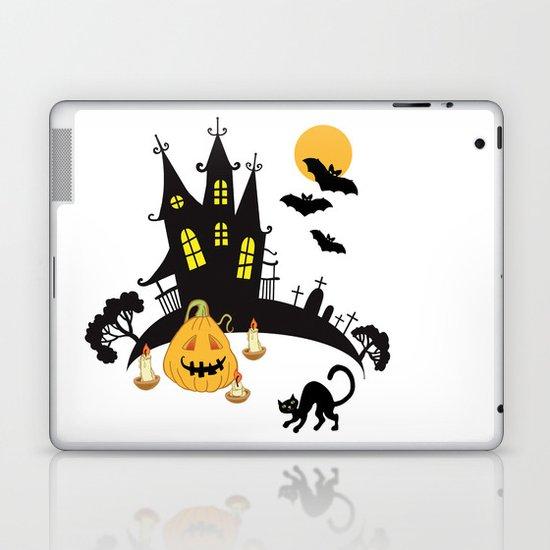 Illustration for Halloween Laptop & iPad Skin