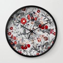 EXOTIC GARDEN XVII Wall Clock