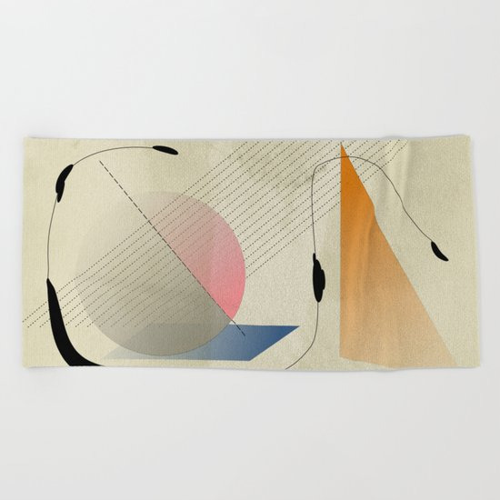 Untitled#05 Beach Towel