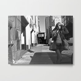 36th St. and 10th Ave., NYC Metal Print