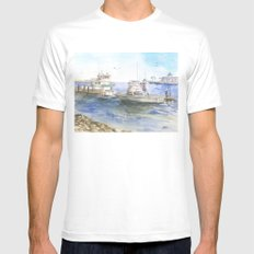Tranquility Mens Fitted Tee White MEDIUM