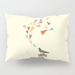 Pigeon Radio Pillow Sham