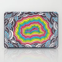 geode iPad Cases featuring Rainbow Geode by Audrey Pixel Designs